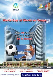 World On Yonge Poster 8-5x5-5-No Eglish